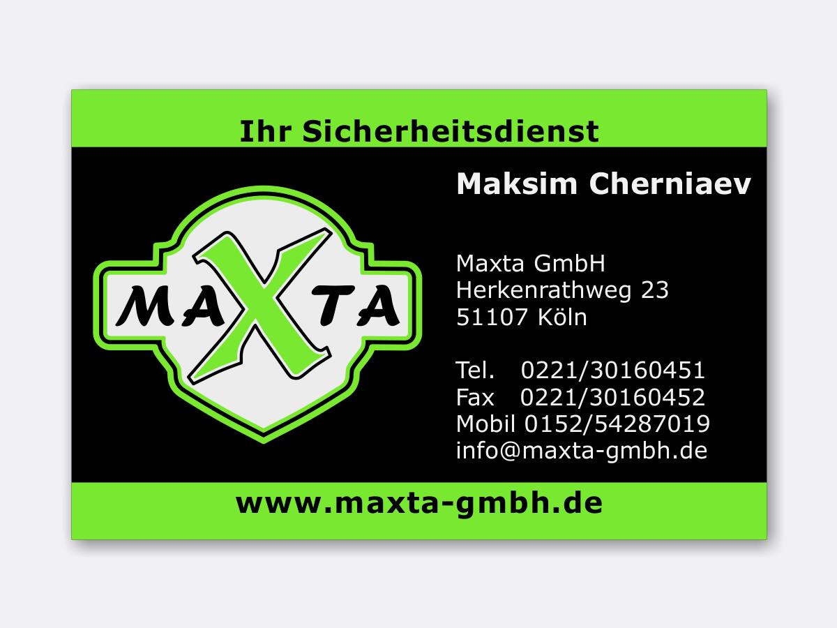 Haubrich Design Visitenkarten